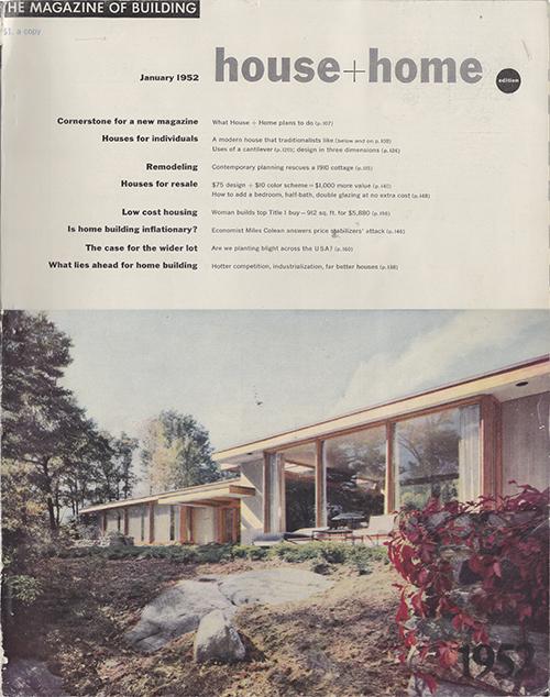 U201cIs An Architect Worth His Fee?u201d The Magazine Of Building, House U0026 Home  Edition, January 1952, 140u2013145.